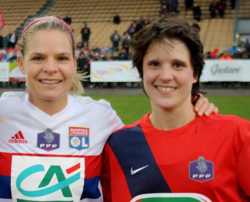 Interview de Julie Neugnot, capitaine de l'équipe de football séniors féminine US Les Fins
