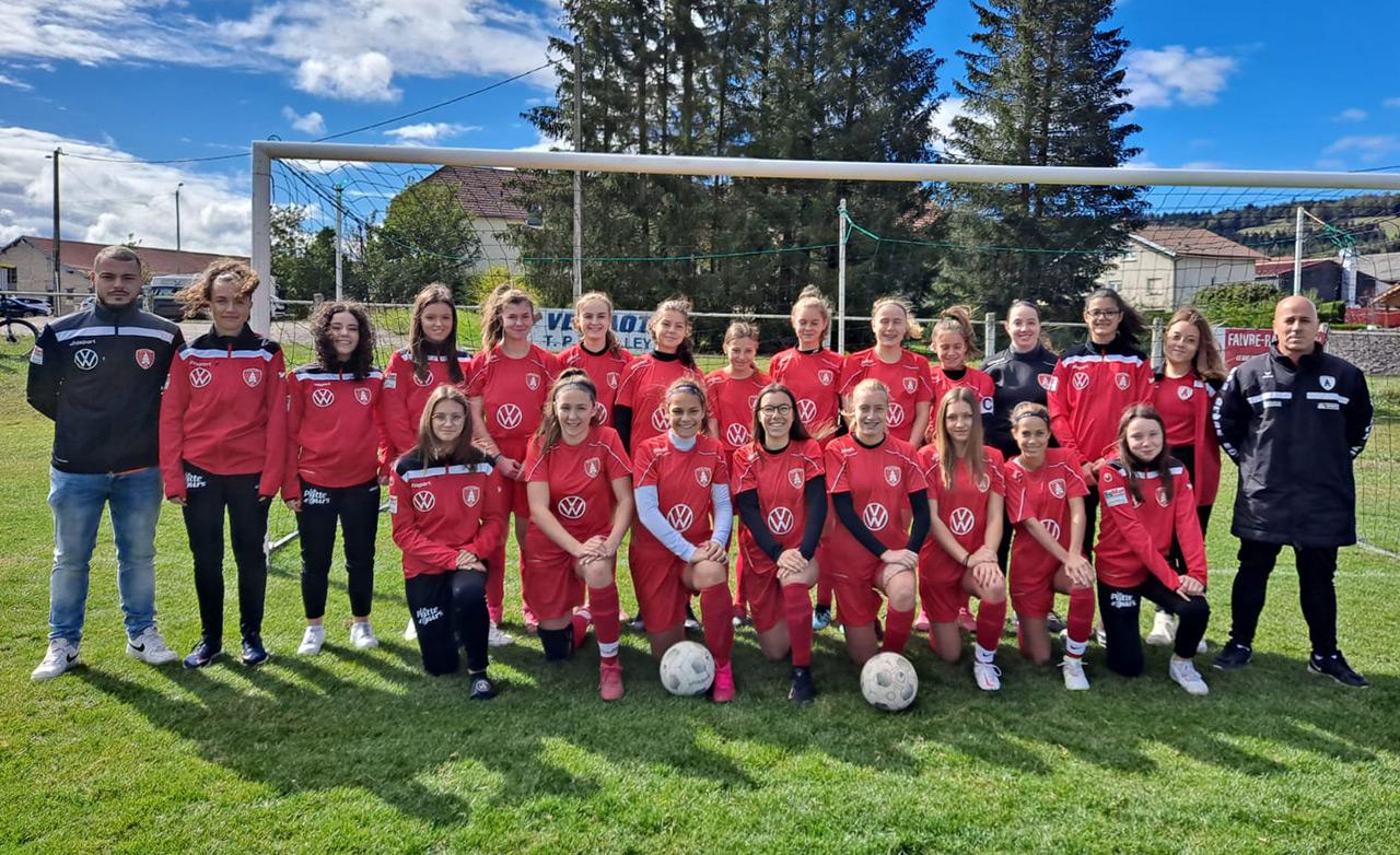 US Les Fins - U17F - saison 2020-2021