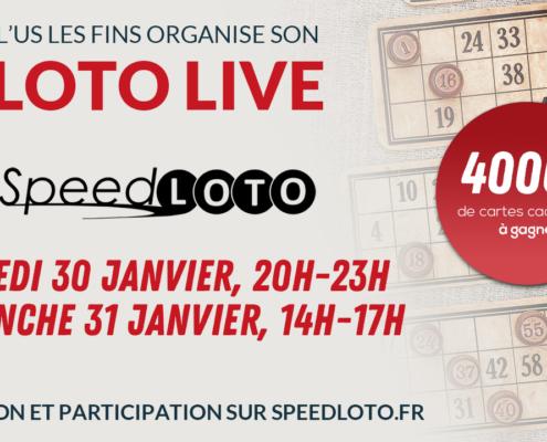 Jouez au loto depuis chez vous samedi 30 et dimanche 31 janvier 2021